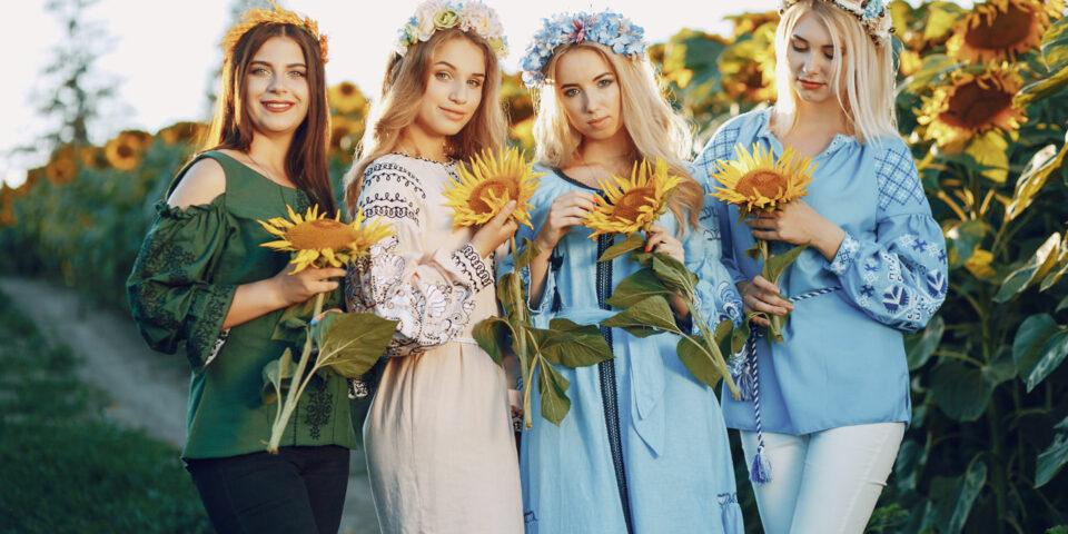 Cztery typy urody kobiecej odzwierciedlające pory roku